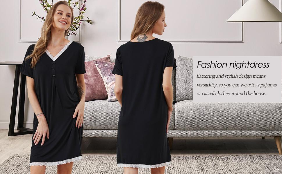 Fashion nightdress