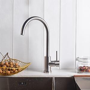 single hole bar sink faucet