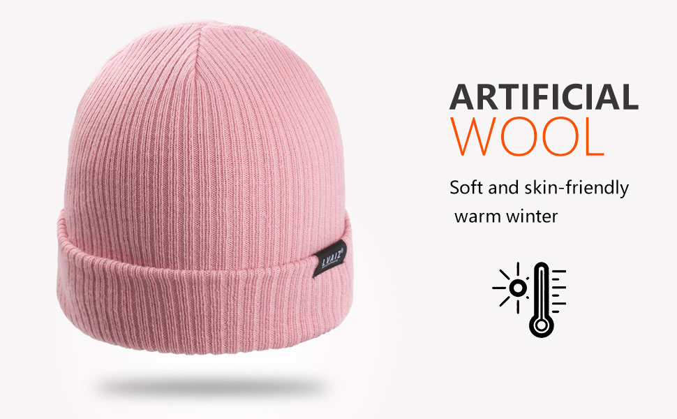 wool knitted beanie