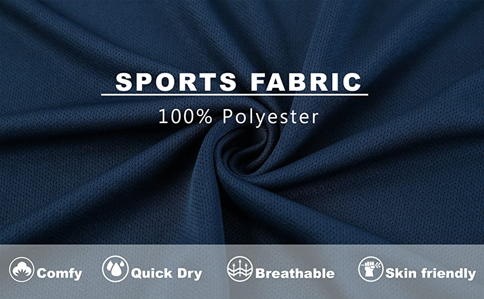 Quick Drying Comfy Breathable Material
