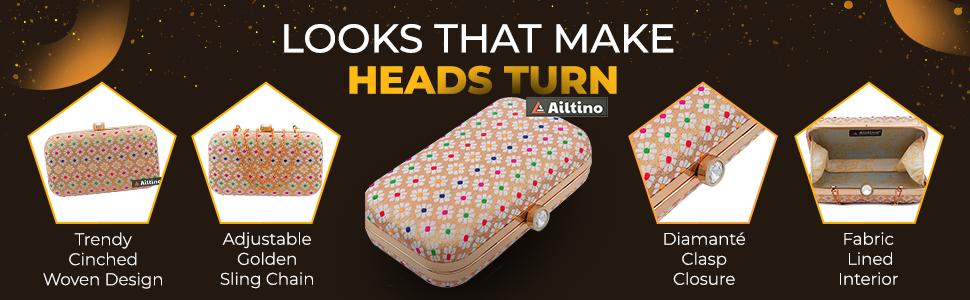 Ailtino Girls Box Clutch SPN-FOR1