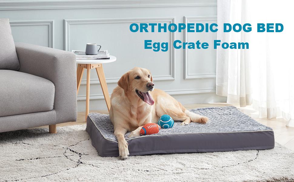 Orthopedic Dog bed large dog bed dog bed for large dogs waterproog dog bed