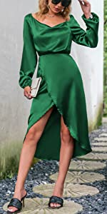 long sleeve satin dress long sleeve formal dress satin formal dress satin party dress