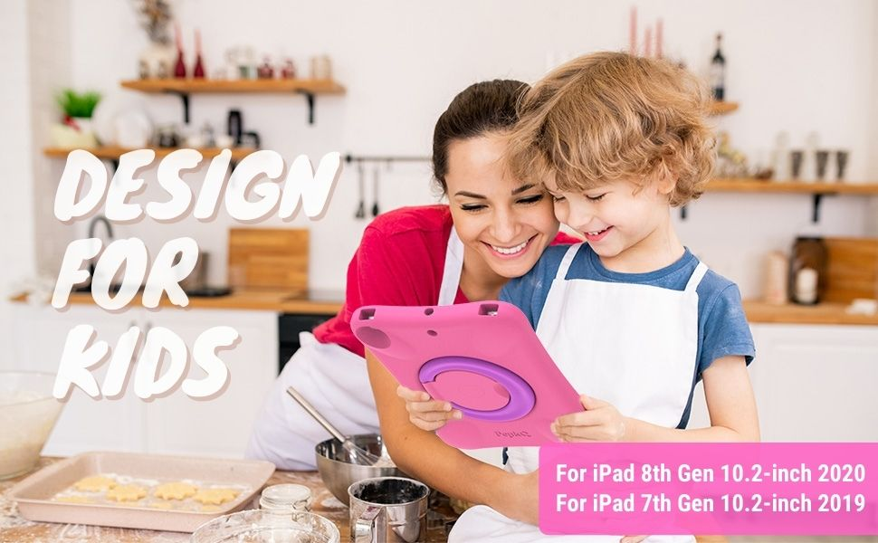 kids case for ipad 7th 8th generation 10.2 inches tablet