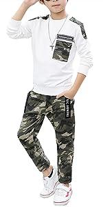 white boys pants set