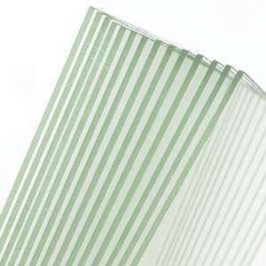 Superb flatness uniform distortion-free surface