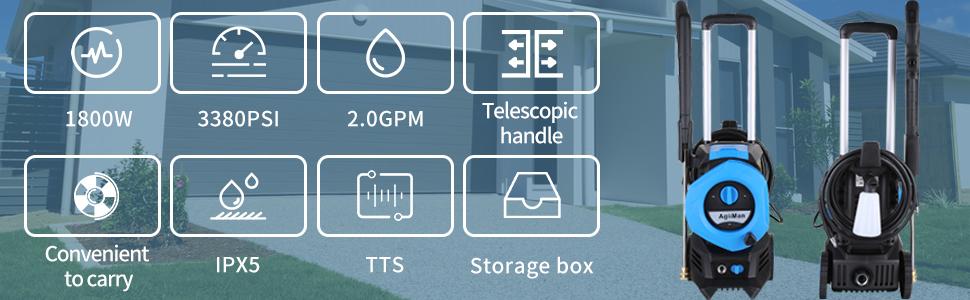 Portable Pressure Car Washer…