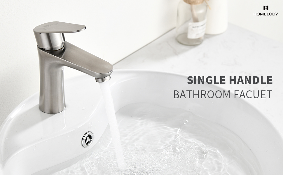 bathroom faucet single handle