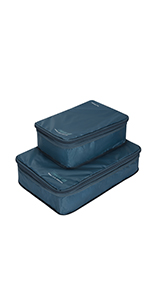Set of 2 Packing Cubes with Compression