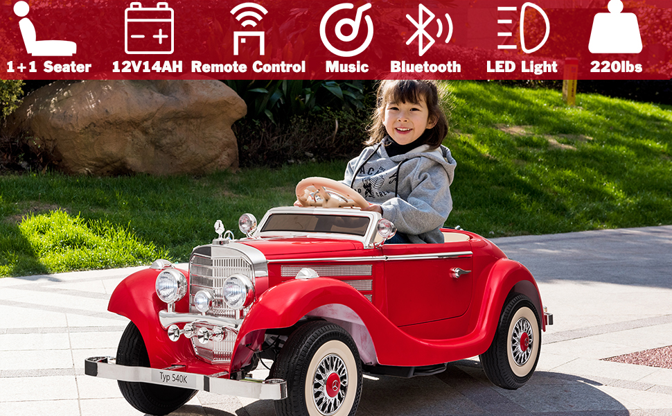 ride on car with remote control