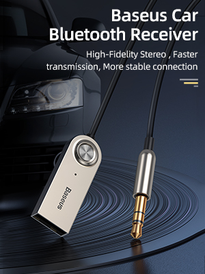 Car Bluetooth Aux Adapter
