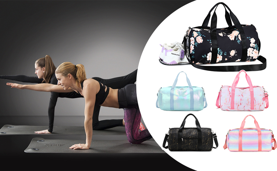 Gym Bag Sports Duffle Bag for Women