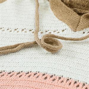 Actloe Womens Long Sleeve Knit Sweater