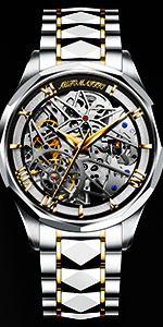 Classic automatic mechanical watch