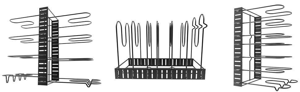 pan rack organizer