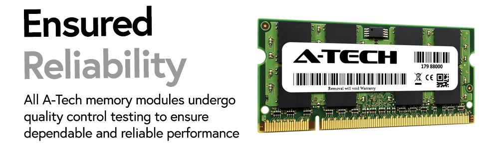 DDR2 SODIMM RAM Memory for laptops, ensured reliability