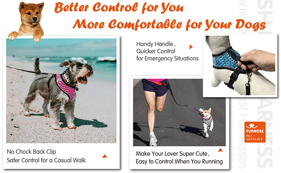 small dog harnesses comfort fit
