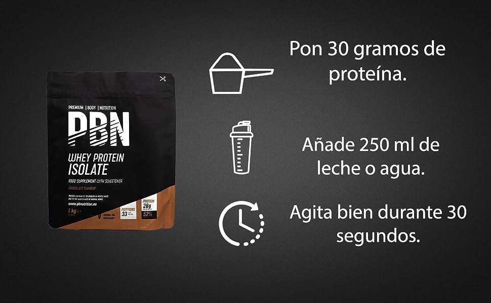PBN Premium Body Nutrition - Aislado de proteína de suero de leche en polvo (Whey-ISOLATE), 2.27 kg (Paquete de 1), sabor Vainilla, 75 porciones