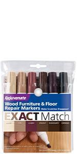 EXACT Match Natural Wood Furniture amp;amp;amp;amp;amp; Floor Repair Markers