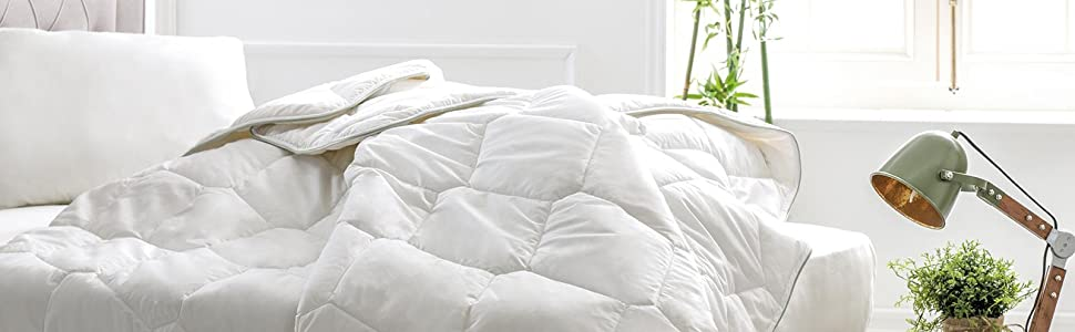 Bamboo Pillow and Quilt