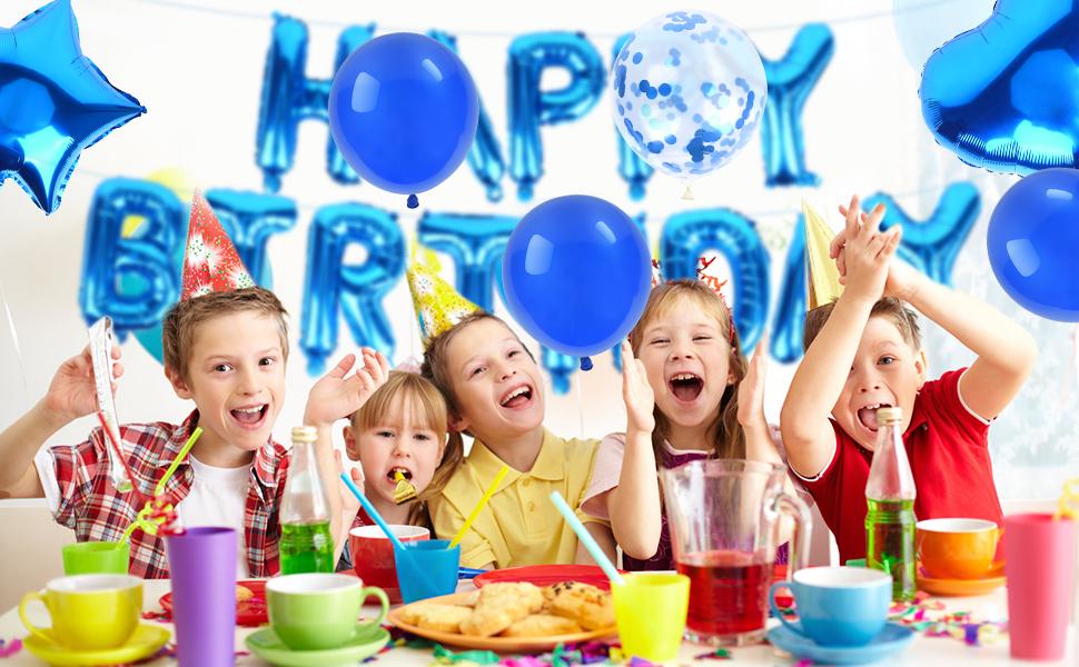 Birthday party balloon