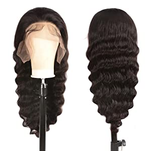 loose deep lace front wigs human hair