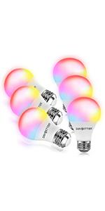 6 Pack Smart Bulbs