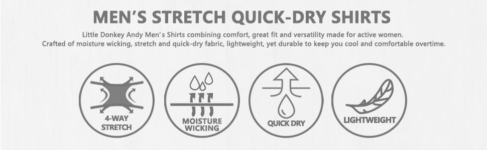 men's quick-dry shirts