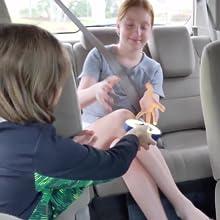 Hot Potato Game in the Car