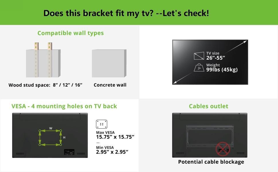 tilt mount for tv