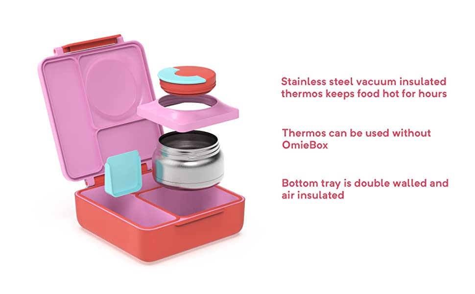 school lunch silverware container holder clean on the go set matching shool omieboxlunch