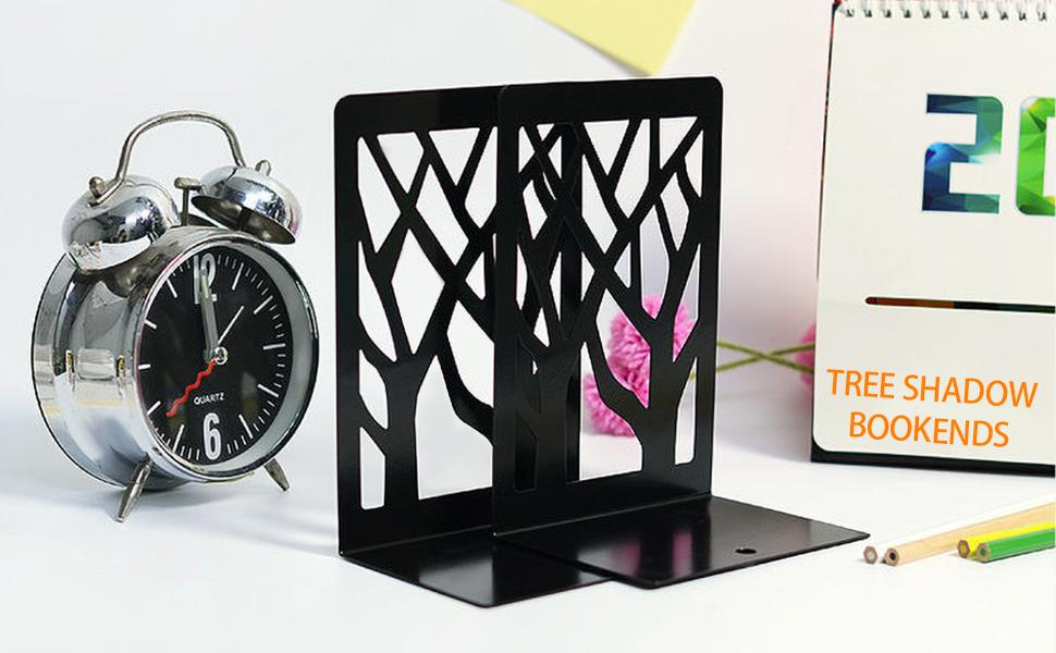 Tree shadow bookends