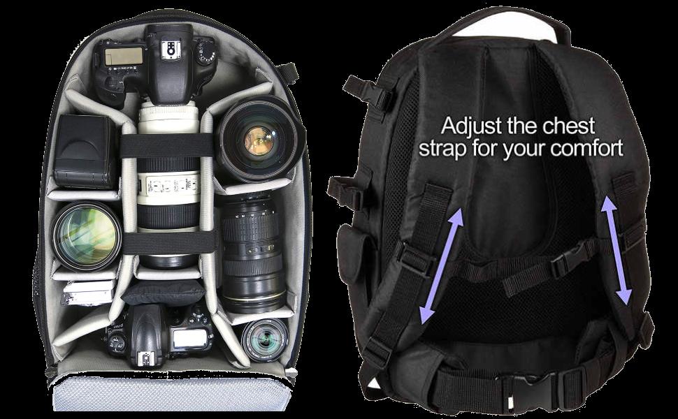 camera bag waterproof