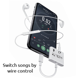 Switch Songs using adapter