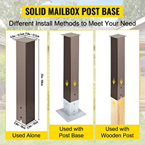 mail box post