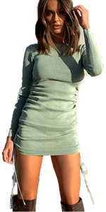 women dress long sleeve