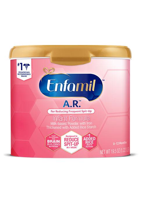 A.R. Enfamil Infant formula