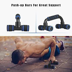 Push-up Bars voor geweldige ondersteuning