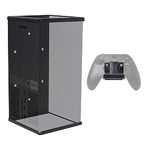 HIDEit Mounts Xbox Series X Mount Bundle for Xbox Series X console + Xbox Controllers
