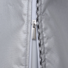 washer cover with zipper