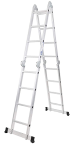 Folding Scaffold Ladder