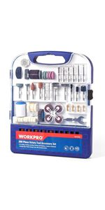 Rotary Tool Accessories Kit, 200-piece