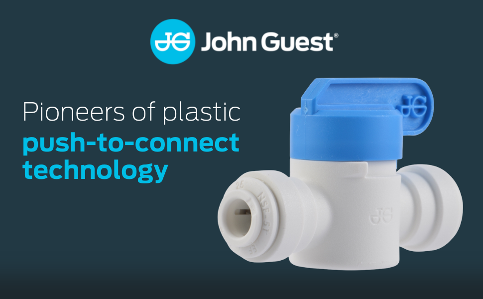 john guest push to connect fittings