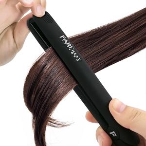 hair straightener using