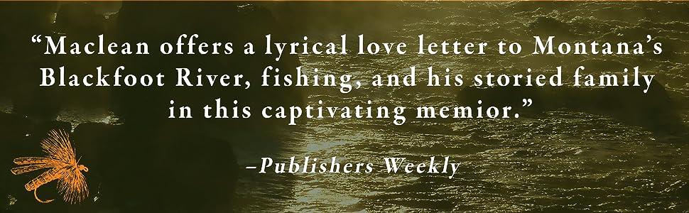 Home Waters John N Maclean Publishers Weekly
