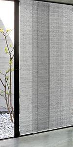 GoDear Design Grey Blackout Window Panel Track Blind Covering, Munich Castle +