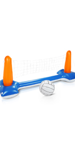 Pool volleyball set