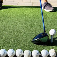 golf rubber tees driving range