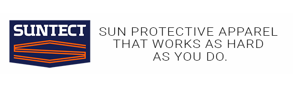 SUNTECT sun protective apparel that works as hard as you do