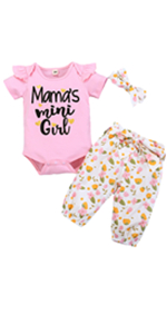 Infant Summer Outfits Set